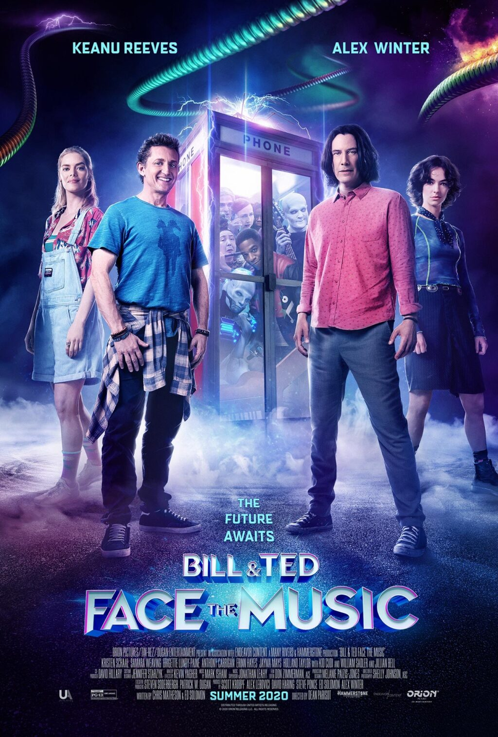 BILL TED FACE THE MUSIC poster 1024x1517 - BILL & TED FACE THE MUSIC Hits PVOD & Select Theaters September 1st & New Trailer!
