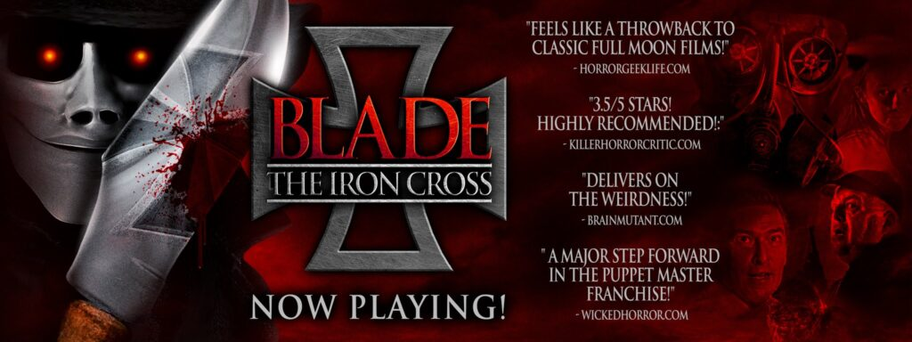 Blade Banner ad 1024x384 - New Clip from BLADE: THE IRON CROSS Now Streaming on Amazon