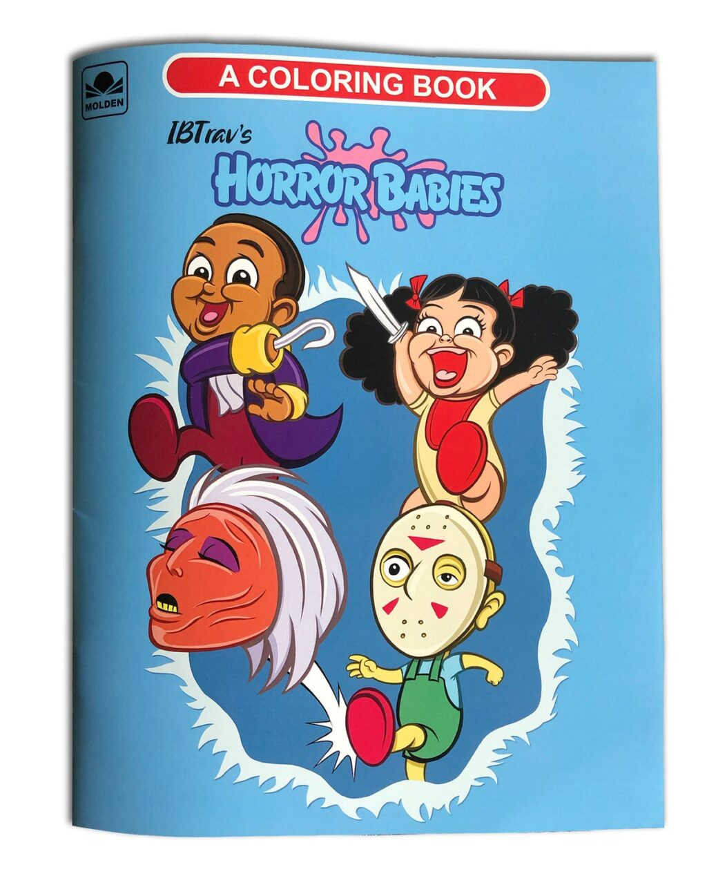 """COLORING BOOK PHYS FRONT 1024x1281 - These """"Horror Babies"""" Are So Cute It's Scary!"""