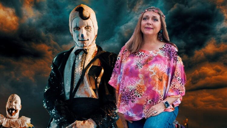"""COTD Carole Baskin Banner 750x422 - Video: """"Hey Big Cats!"""" TIGER KING's Carole Baskin Wants You To See CIRCUS OF THE DEAD Tomorrow"""