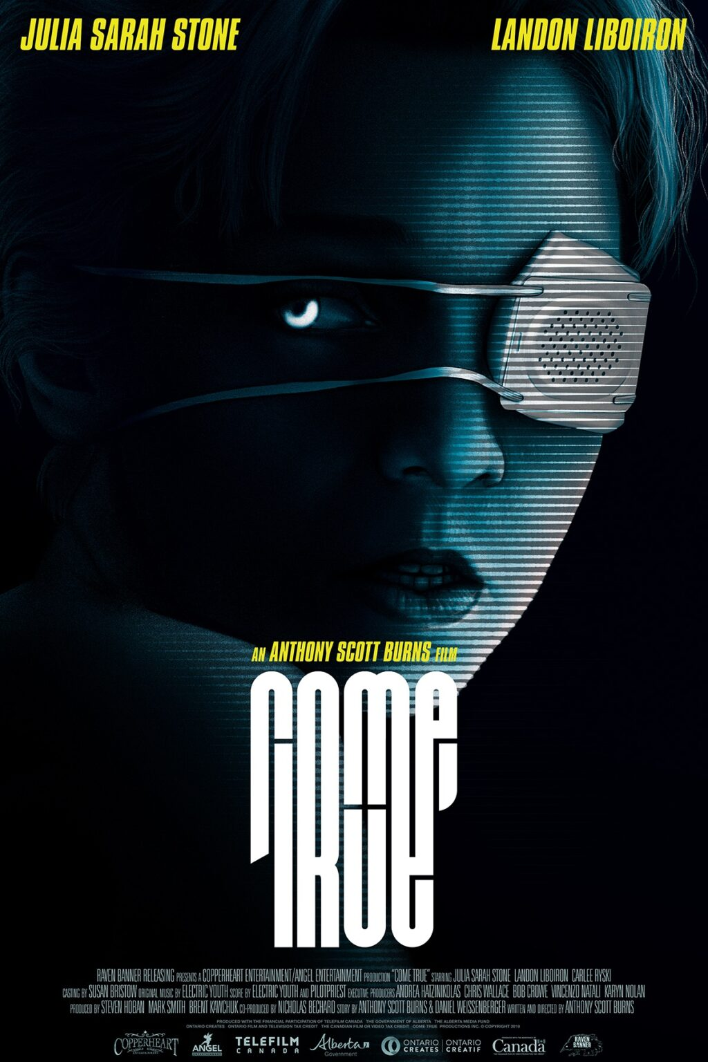 Come True Posters 1024x1536 - First Look: OUR HOUSE Director's New Sci-Fi Horror Flick COME TRUE