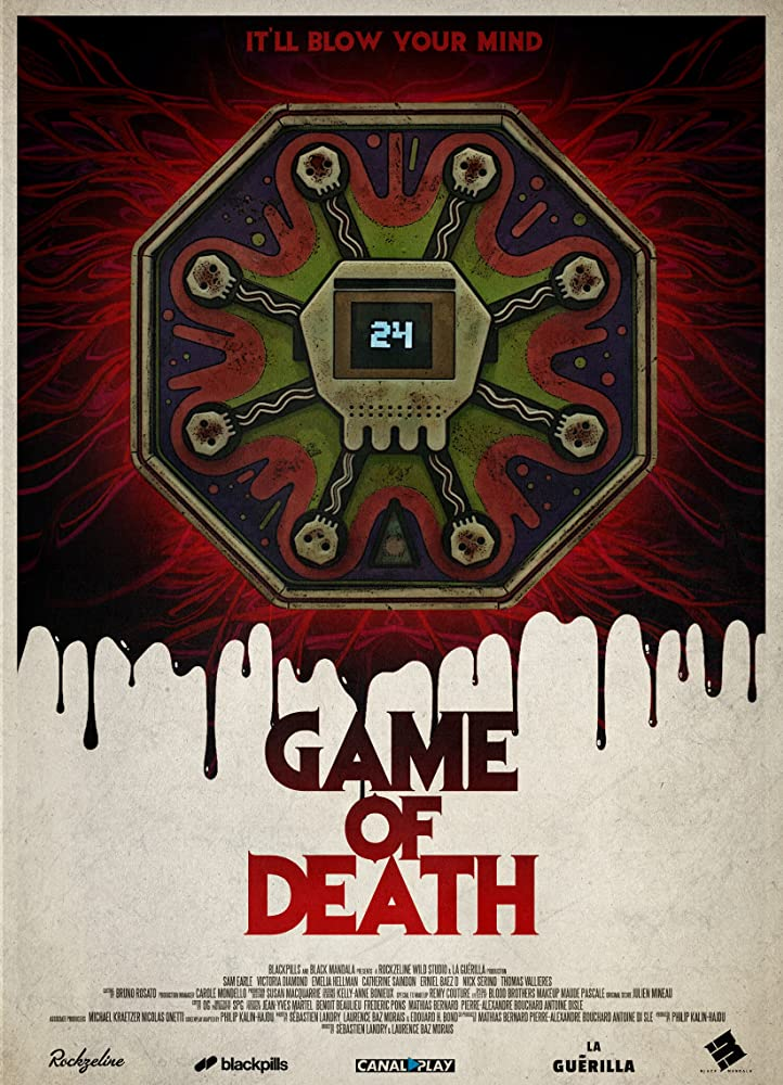 Game of Death Poster - Feel the Splatter in Our Exclusive (and Explosive) Clip from Gory GAME OF DEATH