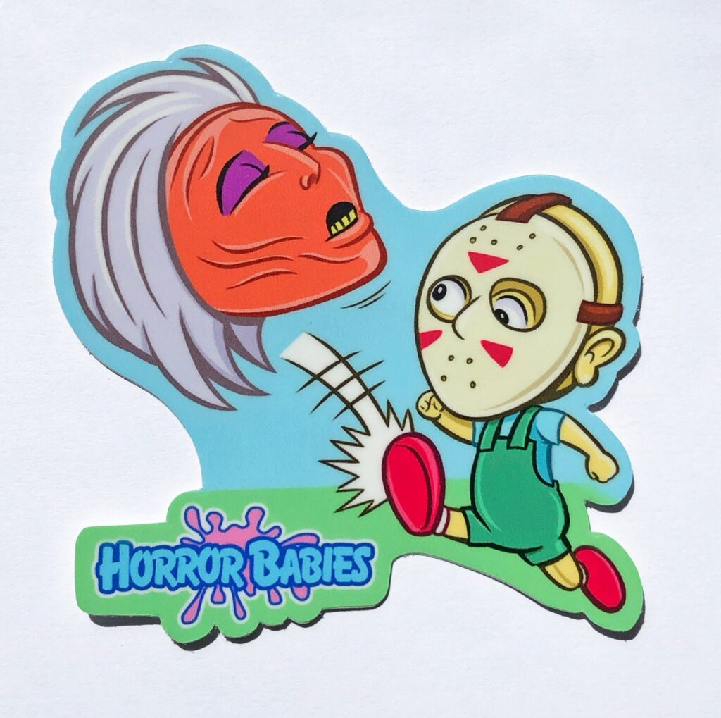 """HB STICKER 1024x1019 - These """"Horror Babies"""" Are So Cute It's Scary!"""