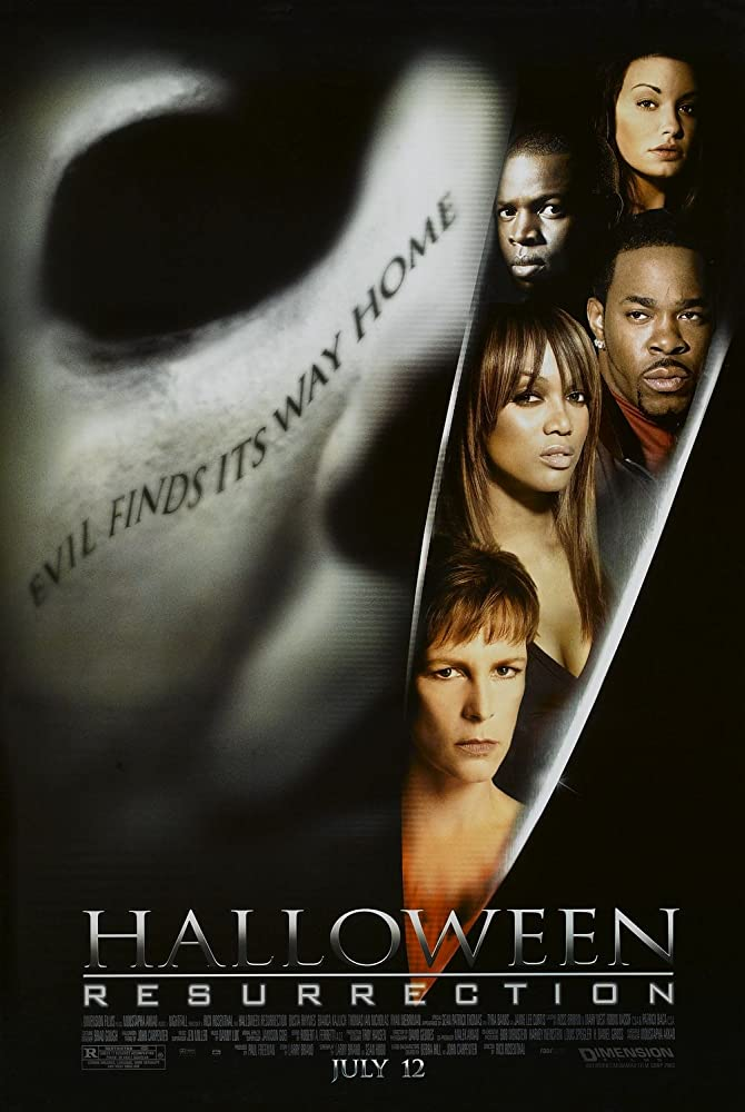 Halloween Resurrection Poster - This Day in Horror History: HALLOWEEN: RESURRECTION Was Released in 2002