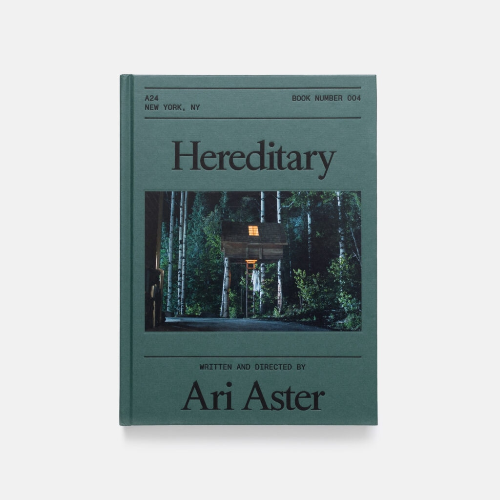 Hereditary Book 1024x1024 - A24 Releases Screenplay Book Celebrating HEREDITARY with New Writing by Ari Aster & Bong Joon Ho