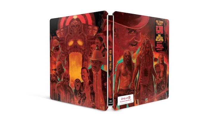 "RZ Trilogy - Rob Zombie's ""Firefly Family"" Trilogy Steelbook Hits Target September 8th"