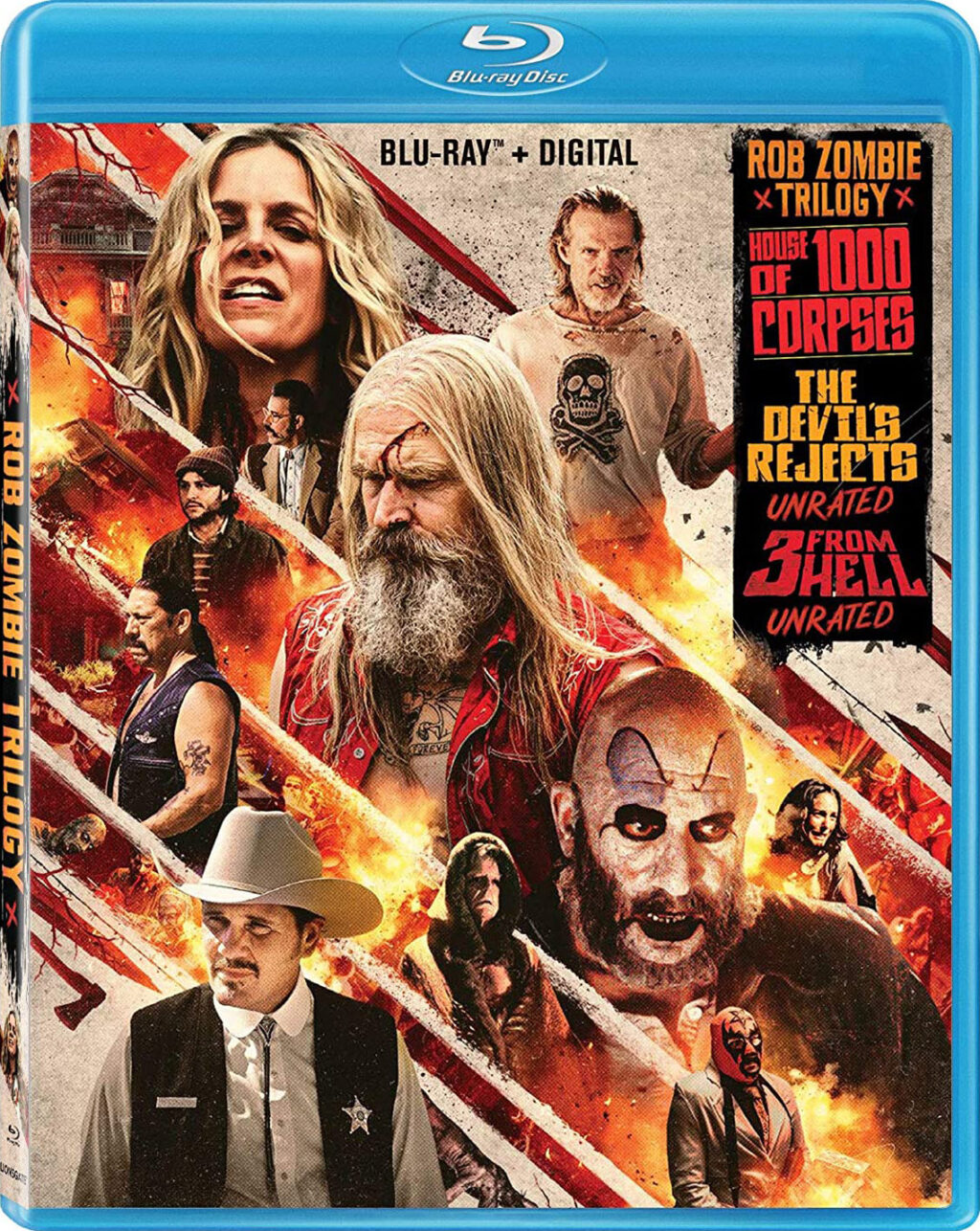Rob Zombie House of 1000 Corpses The Devil's Rejects 3 from Hell Blu ray 1024x1286 - Rob Zombie's FIREFLY TRILOGY Hits Blu-ray 9/22
