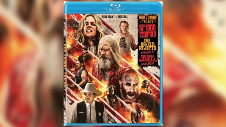 Rob Zombie House of 1000 Corpses The Devil's Rejects 3 from Hell Blu ray HD 750x422 - Rob Zombie's FIREFLY TRILOGY Hits Blu-ray 9/22