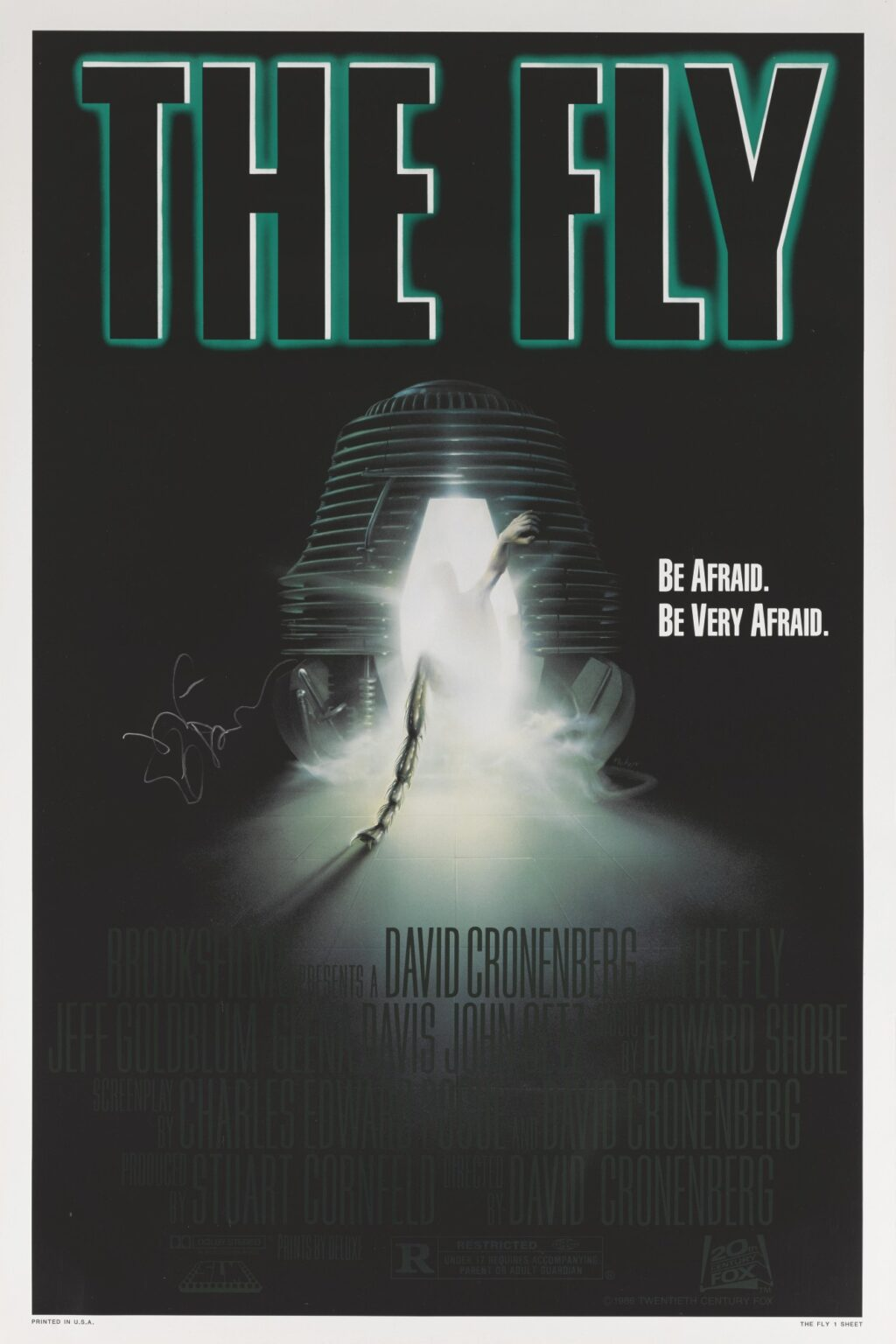 The Fly With Jeff Goldblum POSTER 1024x1536 - Female Lead THE FLY Reboot In The Works with Jeff Goldblum?