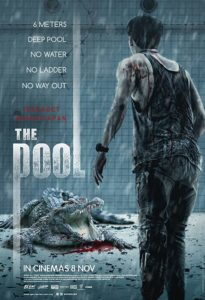 The Pool Poster 205x300 - THE POOL Review--A Mean-Spirited Horror Movie That Swings For the Fences