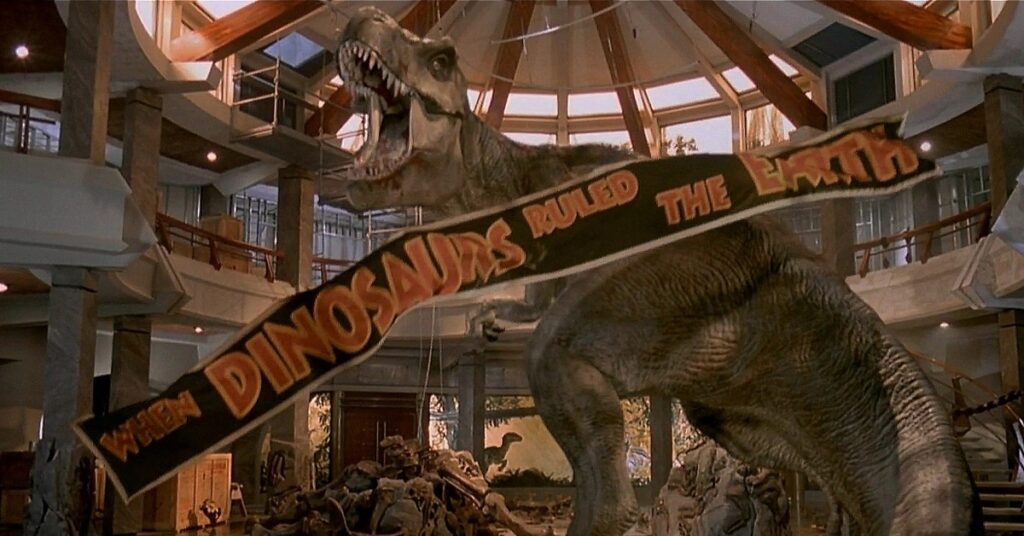 t rex jurassic park 1024x536 - Elon Musk Could Create Real JURASSIC PARK Right Now