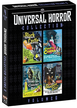 unnamed 2 - Scream Factory's UNIVERSAL HORROR COLLECTION Vol 6 Includes THE BLACK CASTLE, CULT OF THE COBRA, THE THING THAT COULDN'T DIE & THE SHADOW OF THE CAT