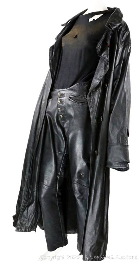 Brandon Lee's THE CROW Costume 3 - THE CROW: Screen-Used Brandon Lee Costume Sells for $25K