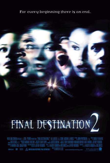 Final Destination 2 - FINAL DESTINATION Is One of the Most Consistently Enjoyable Horror Franchises--Ever