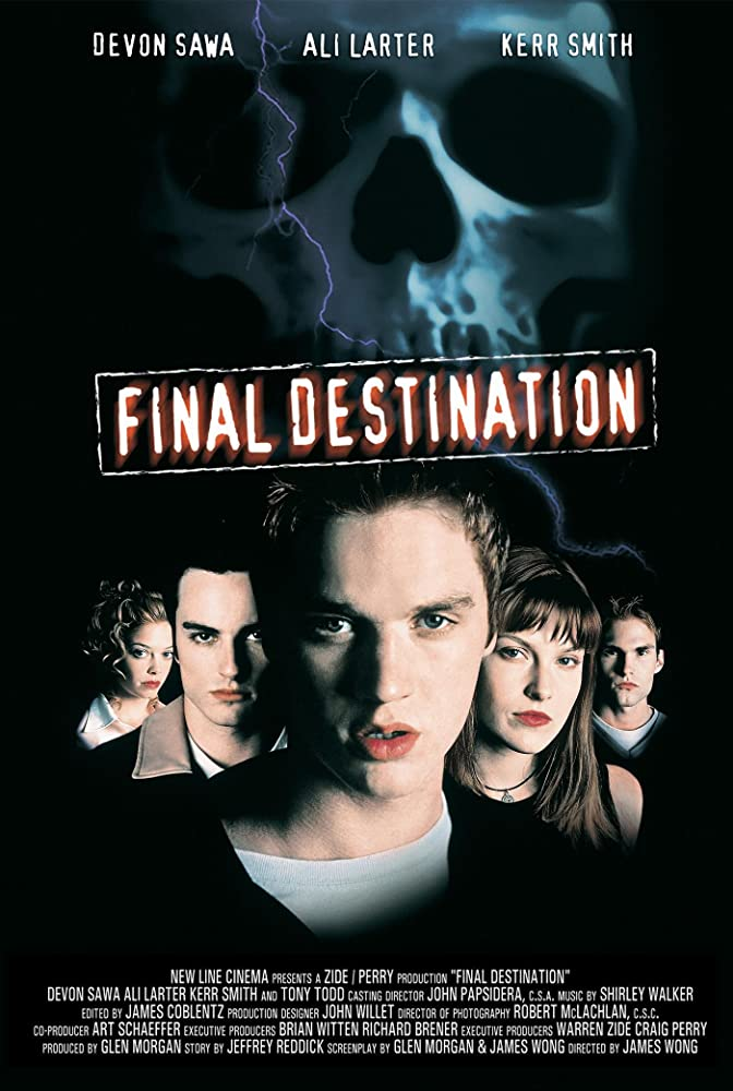 Final Destination Poster - FINAL DESTINATION Is One of the Most Consistently Enjoyable Horror Franchises--Ever