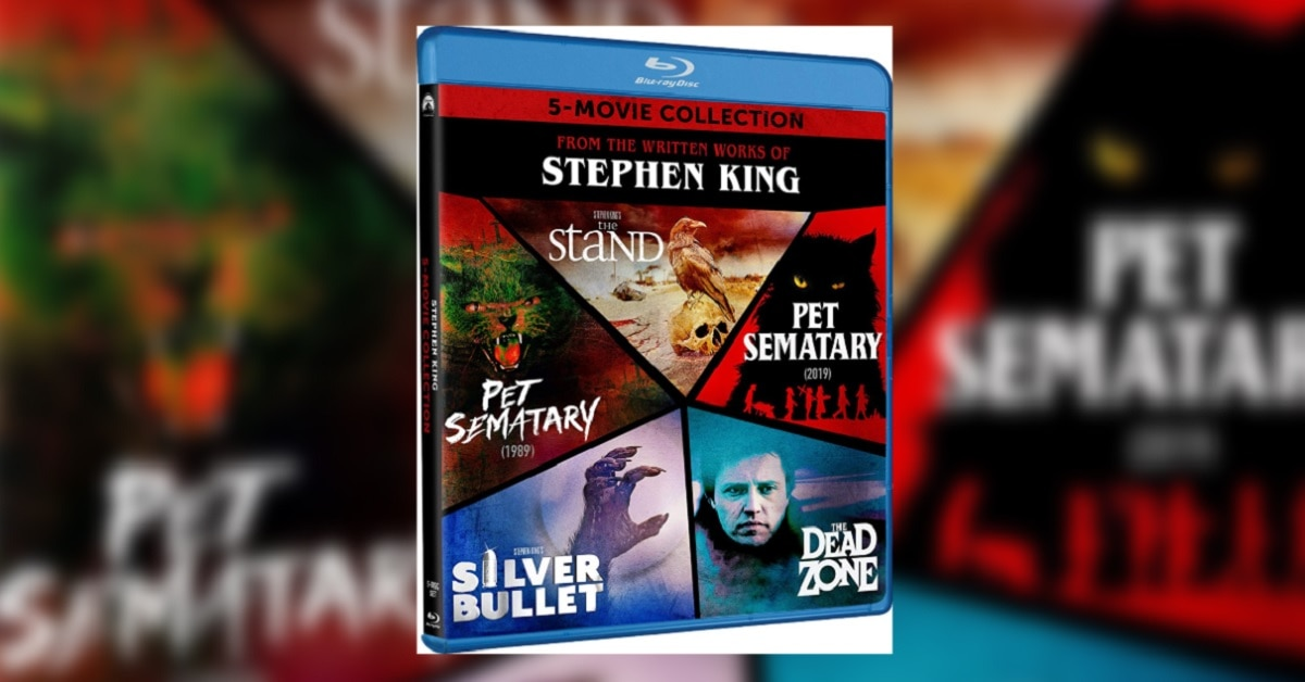 Stephen King 5-Movie Blu-ray Collection Hits Next Month