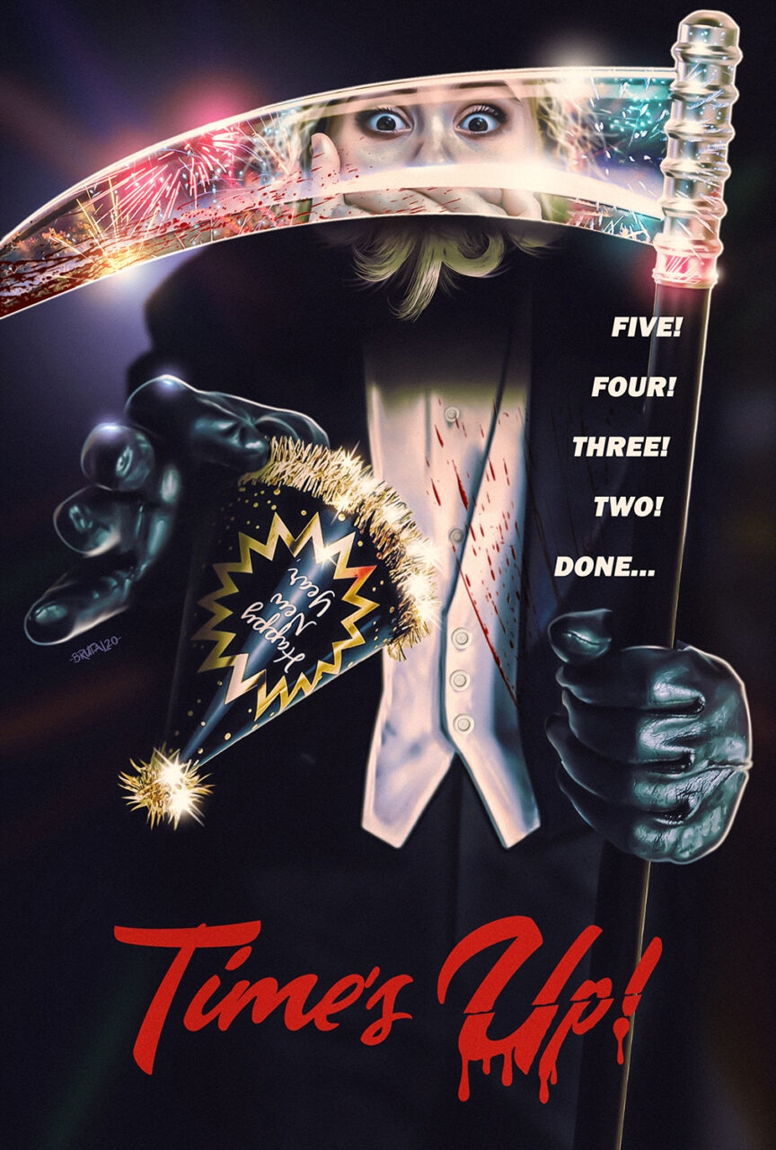 Times Up Large web scaled - New Year's Eve-Themed Slasher TIME'S UP! Will Star Damian Maffei & Felissa Rose