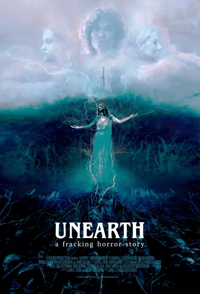Unearth movie film horror fracking 2020 - Fantasia Fest 2020: UNEARTH Review - You Can Work The Ground But Beware What It Can Yield