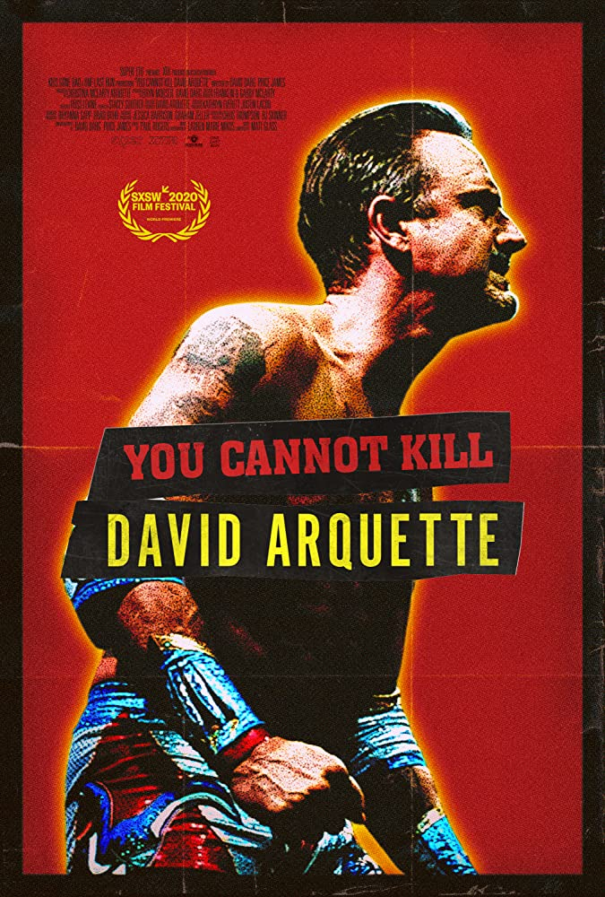You cannot kill David Arquette poster - Supervising Sound Editor Jacob Bloomfield-Misrach Discusses Fantasia's 12 HOUR SHIFT & YOU CANNOT KILL DAVID ARQUETTE