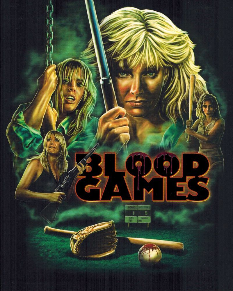 blood games blu - BLOOD GAMES Blu-ray Review - A Forgotten '90s Feature Fit For Modern Times