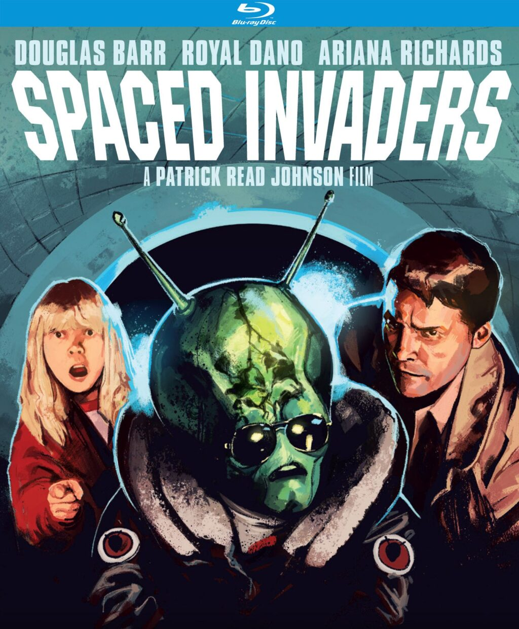 spaced invaders blu 1024x1241 - SPACED INVADERS Blu-ray Review - A Kinder War of the Worlds