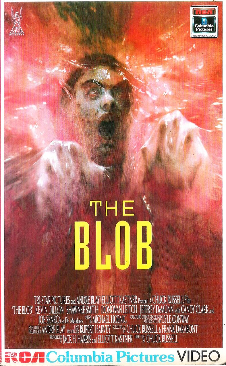 the blob 1988 poster - This Day in Horror History: THE BLOB Remake Was Released in 1988