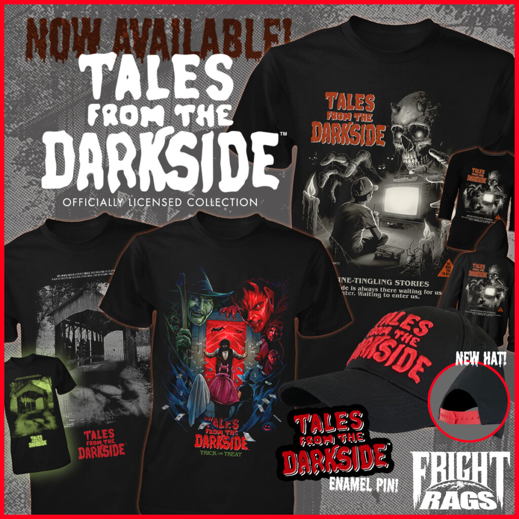 0920 TalesFromTheDarkside FrightRags 1024x1024 - Spooky Season is Here with HALLOWEEN 4 + 5, TRICK 'R TREAT, & TALES FROM THE DARKSIDE Merch from Fright-Rags