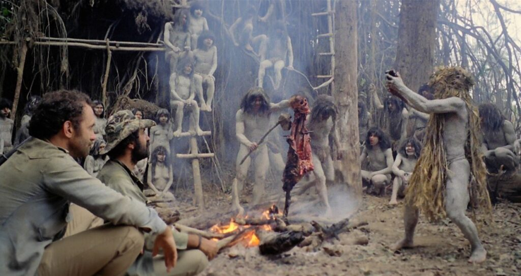 Cannibal Holocaust fire 1024x542 - Who Goes There Podcast: Ep273 - CANNIBAL HOLOCAUST
