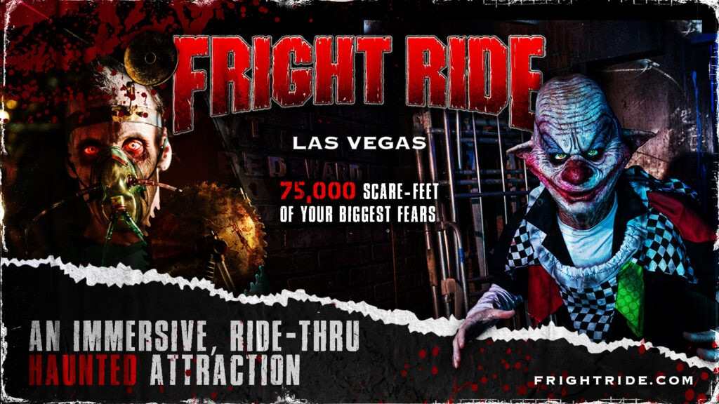 ClownDr Flyer2 1920x1080 1024x576 - Trailer: Nevada's Largest In-Door Halloween Attraction FRIGHT DOME to Open Its Doors This October for FRIGHT RIDE