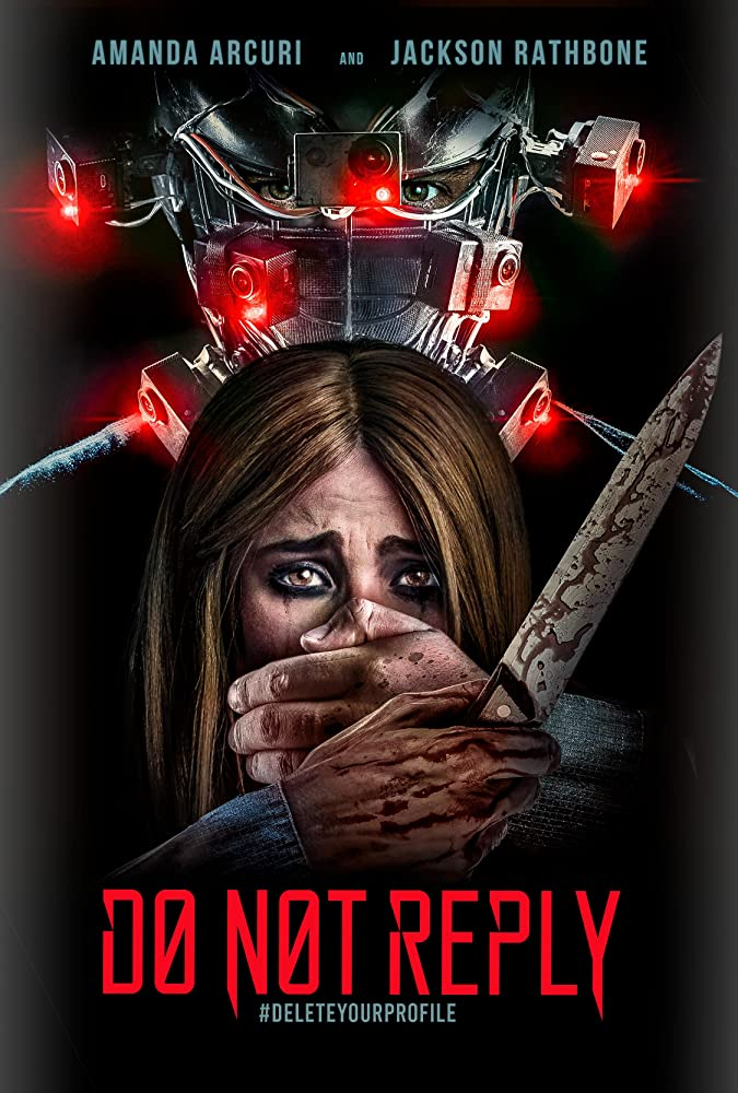 Do Not Reply Poster - Sit Down for Dinner in Our Exclusive Clip from Techno-Horror DO NOT REPLY