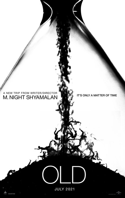 OLD Poster - M. Night Shyamalan's OLD Plot Revealed: A Dead Body, A Beach & Something Unnatural