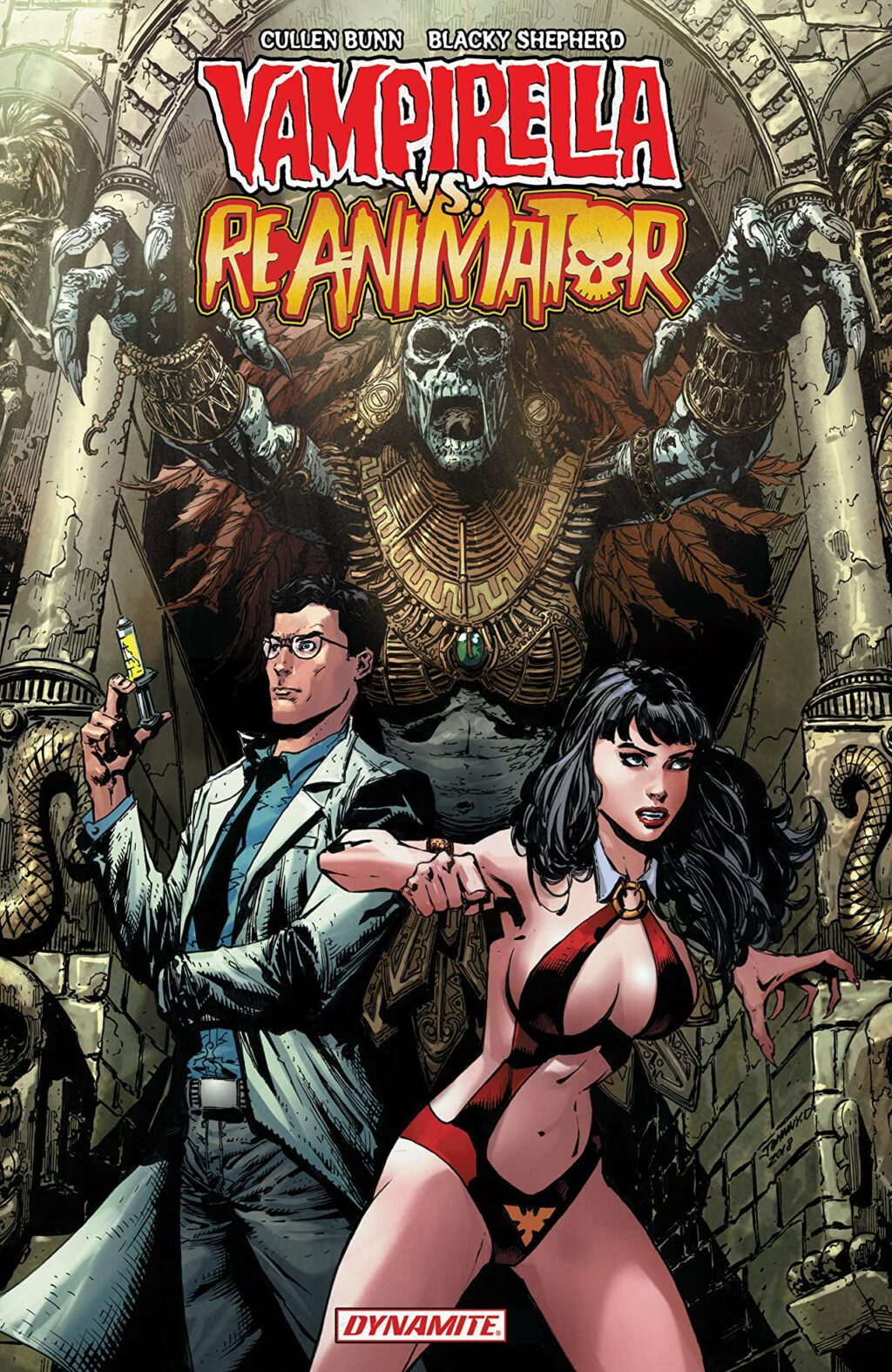 5 Vampirella vs Reanimator 1024x1575 - More Cursed Pages: Another 6 Comics for Horror Fans
