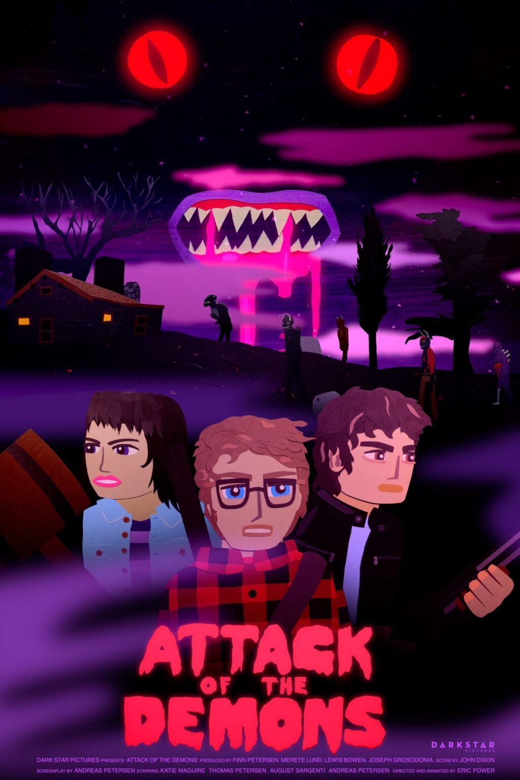 Attack of the Demons Poster 3 1024x1536 - Trailer: Animated Adult Horror ATTACK OF THE DEMONS in Virtual Cinemas 10/30