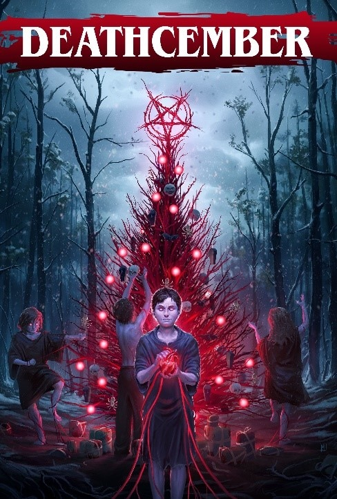 Deathcember Poster - The Ho-Ho-Horror Begins November 24th with DEATHCEMBER on Digital