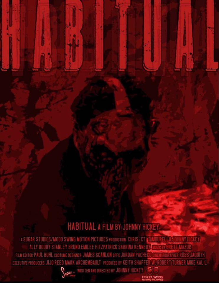 Habitual Poster - Trailer: Do Drugs, Get Dead in HABITUAL from Writer/Director of OXY-MORONS