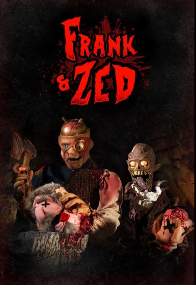 Screen Shot 2020 10 12 at 11.12.31 AM - Nightstream: FRANK & ZED Review - Heartwarming, Brain Eating Zombie Puppet Bromance 7-Years-In-The-Making
