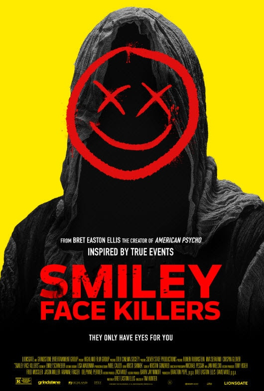 Smiley Face Killers Poster - Popcorn Frights Announces WICKED WEEKEND Virtual Event for Halloween Weekend