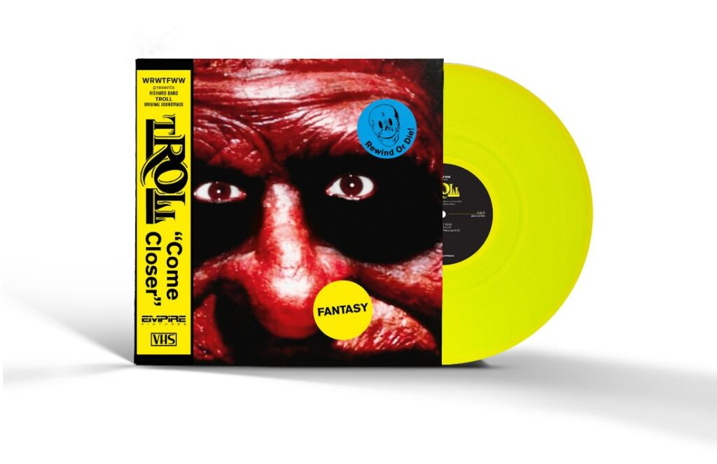 TROLL MOCK UP WITH SHADOW 1024x663 - WRWTFWW Records Releasing GHOULIES, TROLL, & TERRORVISION Soundtracks on Limited Edition Colored Vinyl