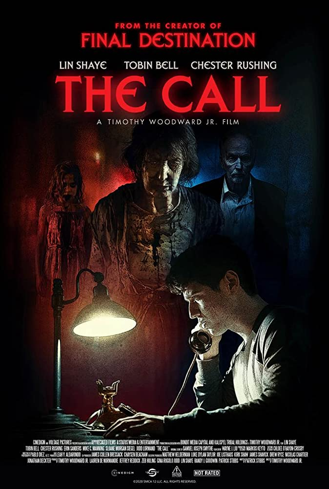 The Call Poster - THE CALL Review - A Different Kind of Ghost Story Featuring Lin Shaye & Tobin Bell As A Killer Couple