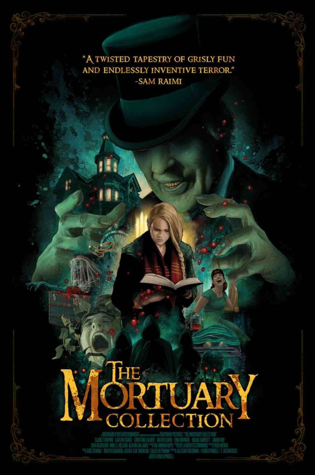 The Mortuary Collection 1024x1542 - New Trailer for Hit Horror Anthology THE MORTUARY COLLECTION on Shudder October 15th
