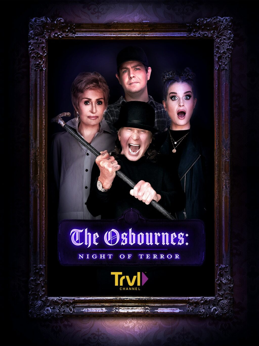 TheOsbournes NightofTerror 1024x1365 - It's An Osbourne Family Ghost Hunt! 2-Hour Travel Channel Special Airs October 30th