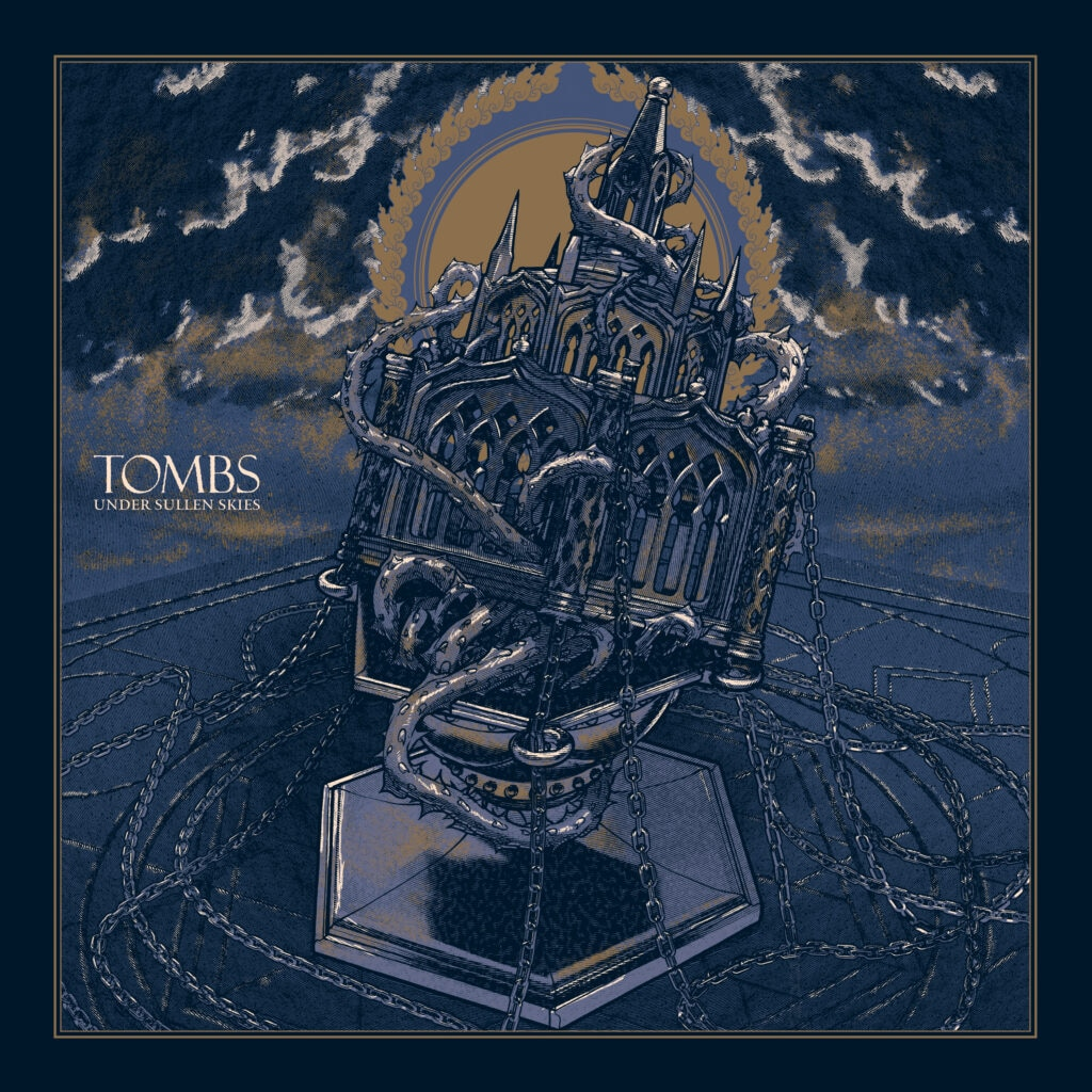 """Tombs album 1024x1024 - Exclusive Video Premiere: """"The Hunger"""" by TOMBS Pays Homage to Cinema's Most Bloodthirsty Vampires!"""
