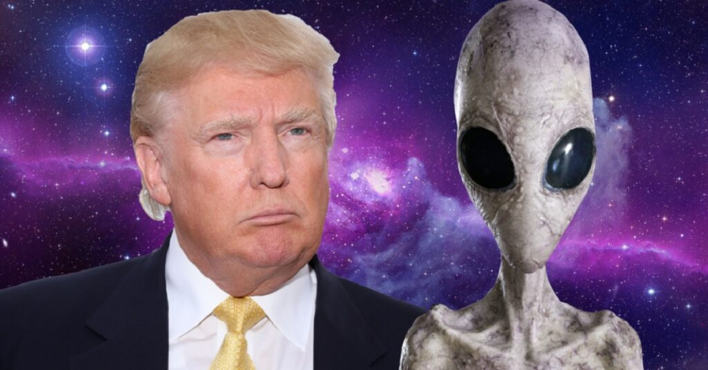 Trump Will Give 'Good Strong Look at the Existence of Aliens UFOs 1024x536 - Trump Will Give 'Good, Strong Look' at the Existence of Aliens & UFOs