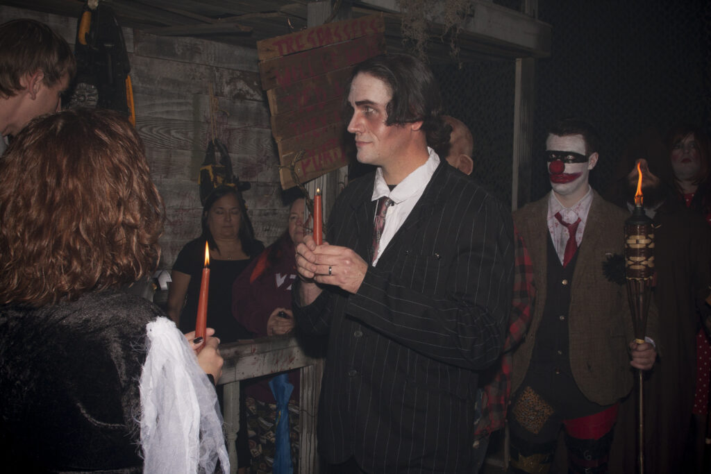 halloween wedding49 1024x683 - Memoirs of a Haunter: Life Behind the Scenes of a Haunted Attraction