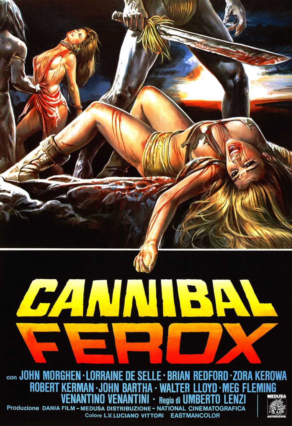 1. Cannibal Ferox 1024x1490 - With Chianti & Fava Beans: Celebrating a Few of the Best Cannibal Horror Movies