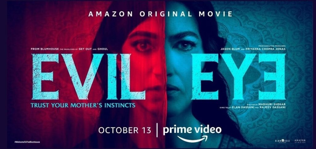 EVIL EYE INTERVIEWS BLUMHOUSE 1024x483 - HORROR BUSINESS: Elan and Rajeev Dassani on Welcome to the Blumhouse Feature, EVIL EYE
