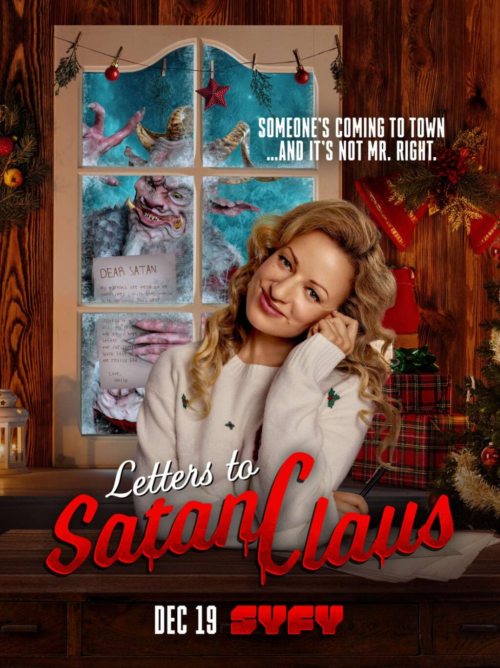 Letter to Satan Claus 1024x1368 - Trailer: Syfy Delivers LETTERS TO SATAN CLAUS on December 19th