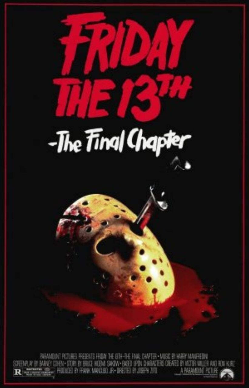 The final chapter poster scaled - Celebrate Friday the 13th by Reading Our Exclusive Interview with THE FINAL CHAPTER Director Joe Zito!