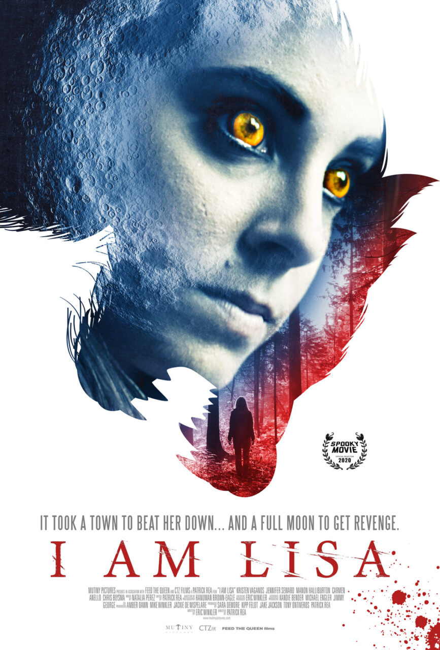 i am lisa poster scaled - Exclusive Interview with Kristen Vaganos, Star of Werewolf Horror I AM LISA