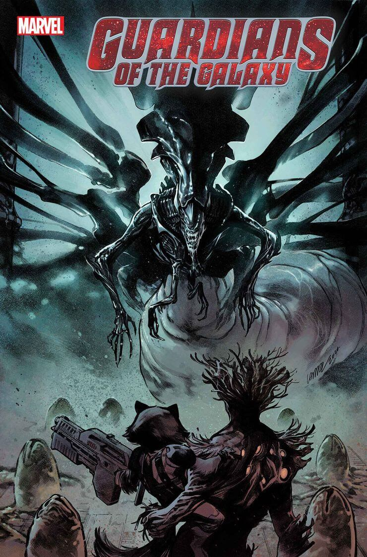 marvel aliens official variant cover10 1 - Xenomorphs Invade The Marvel Universe In Stunning New Official ALIEN Variant Covers